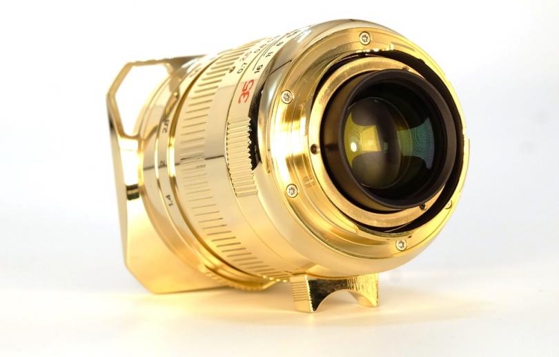 Ограниченный выпуск объектива TTartisan 35mm f/1.4 «24K Gold Skin»