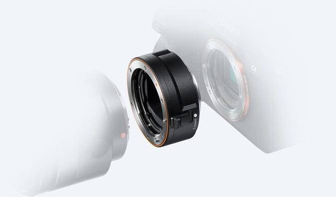 Sony представила адаптер LA-EA5 для оптики с байонетом A и камер с креплением E