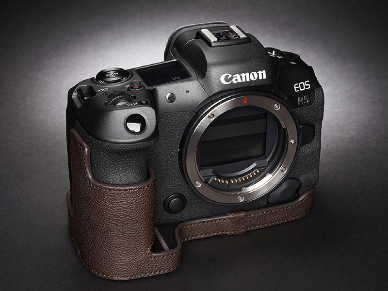 Кожаный чехол для вашей Canon EOS R5