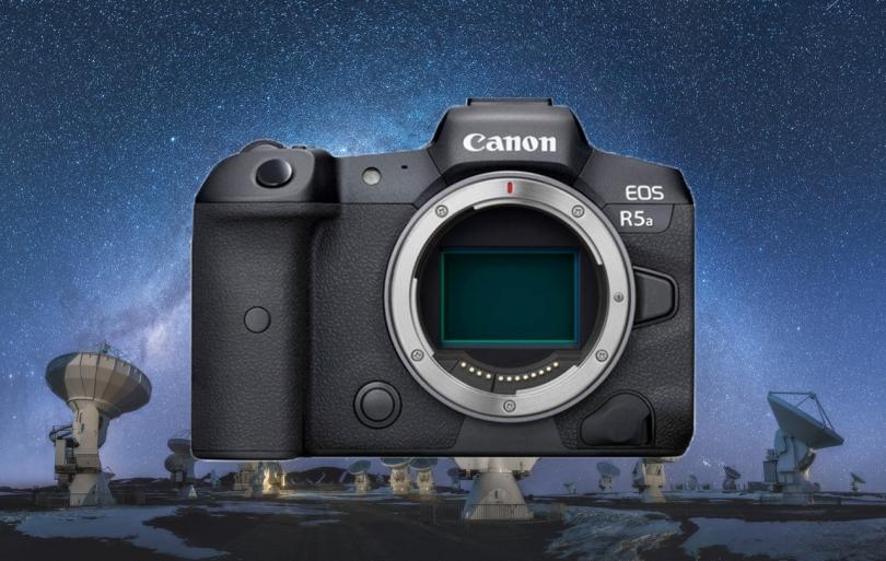 Canon выпустит EOS R5a для астофотографии?