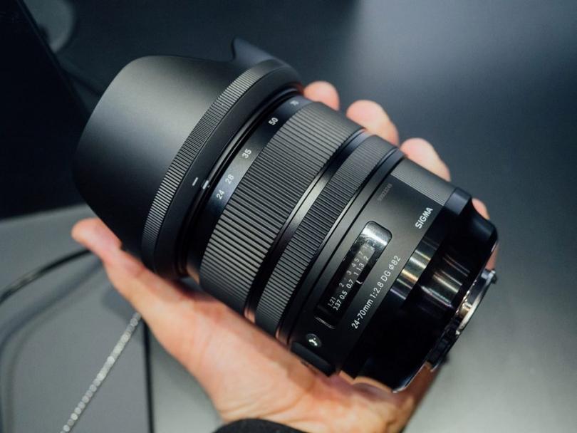 Обнаружена проблема SIGMA 24-70mm F2.8 DG DN | Art с SONY α7S III