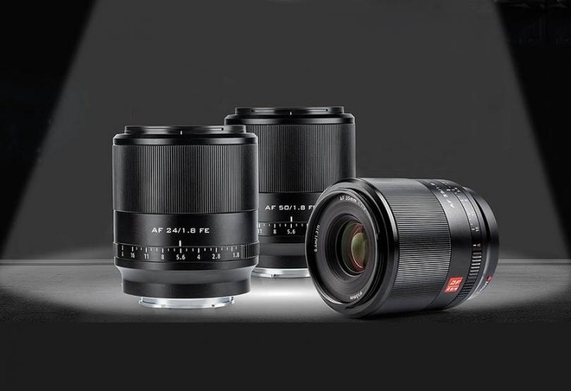 Viltrox обозначила стоимость новых объективов AF 24/35/50mm F1.8 FE