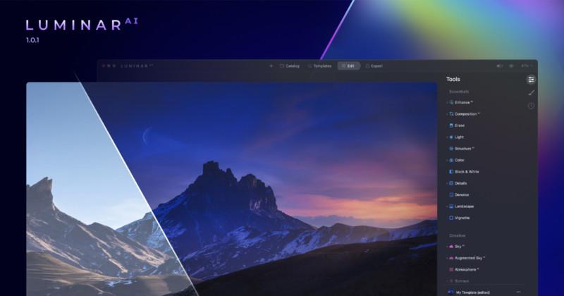 Skylum обновила Luminar AI с более упрощенным редактированием
