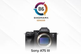 Sony A7S III протестирована в DXOMARK