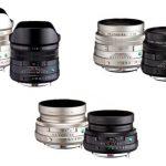 Объявлены 3 новых объектива HD PENTAX-FA Limited