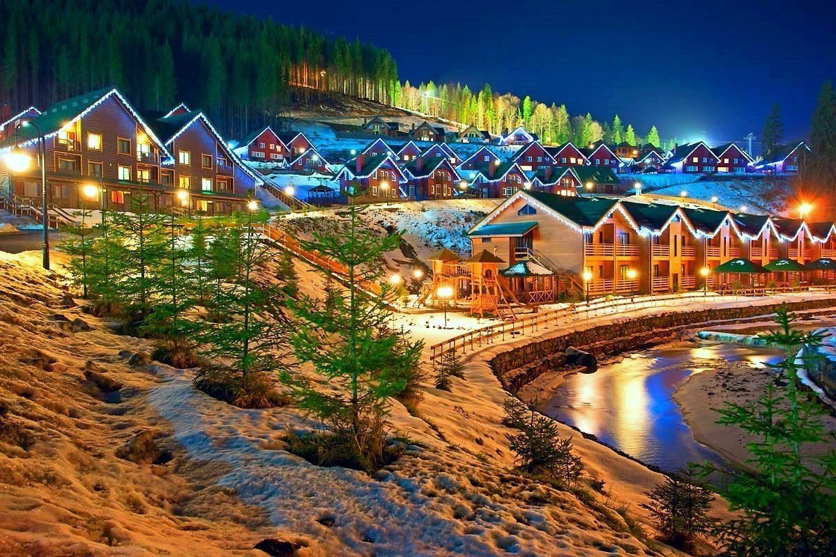 Буковель — крупнейший горнолыжный курорт Украины