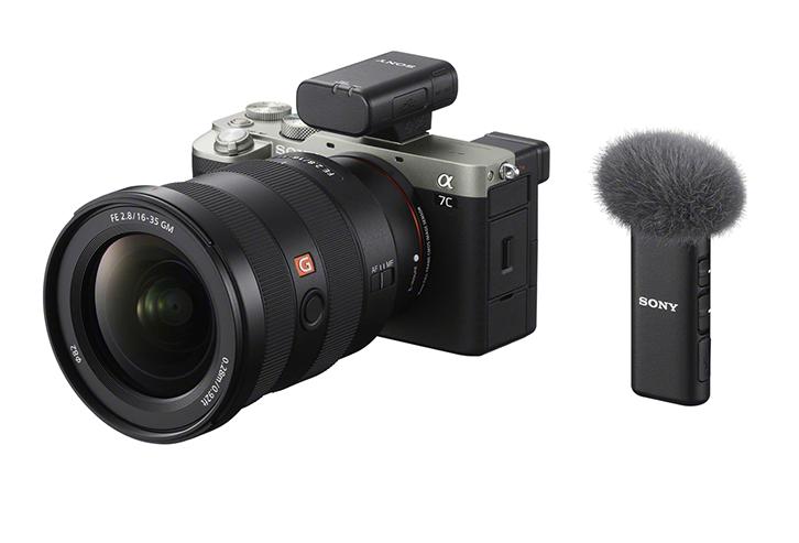 Sony представила два новых микрофона ECM-W2BT и ECM-LV1