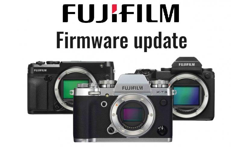 FUJIFILM выпустила новые прошивки для X-T3, GFX 50S и GFX 50R