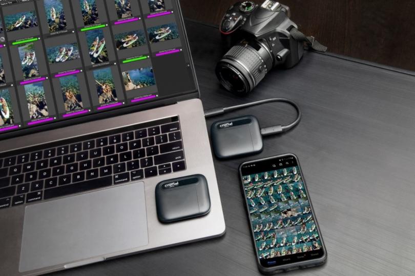 Представлены две новые модели накопителей Crucial X6