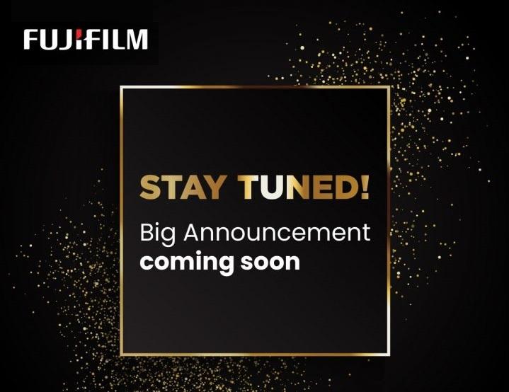Большой анонс Fujifilm ожидает нас в ближайшее время
