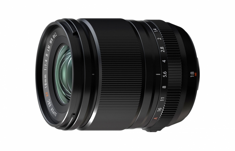 FUJIFILM представила Fujinon XF 18mm f/1.4 R LM WR