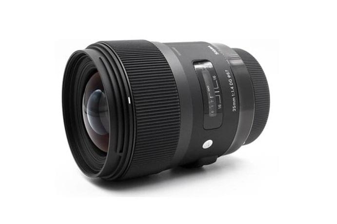 Спецификации Sigma 35mm F1.4 DG DN | Art