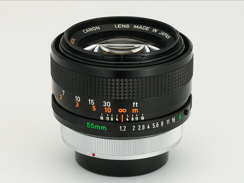 50 лет с момента выпуска Canon FD55mm F1.2 AL