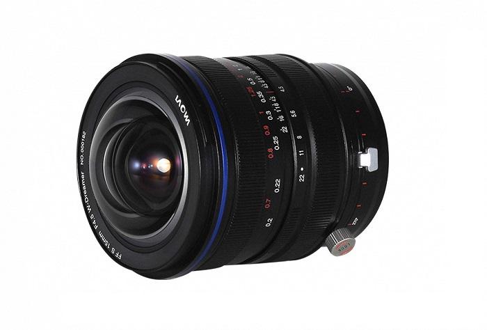 Laowa 15mm f/4.5 Zero-D Shift теперь доступен для Pentax K и Leica L
