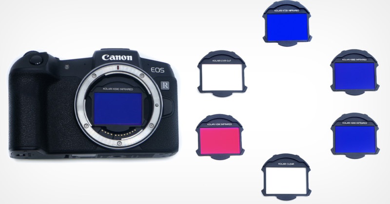Clip-In фильтры для Canon EOS R5 от Kolari Vision