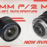 Новый Venus Optics 7.5mm F2 MFT теперь имеет электронную регулировку диафрагмы