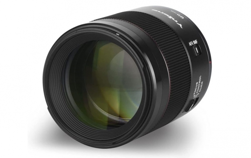 Yongnuo представила YN RF 85mm f/1.8R DF DSM для Canon RF