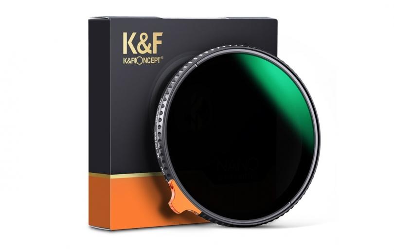 Фильтр K&F переменной нейтральной плотности и ручкой регулировки