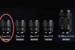 Спецификации Panasonic LUMIX S 24mm F1.8