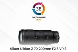 Nikon Nikkor Z 70-200mm F2.8 VR S показал отличные результаты при тесте DXOMARK