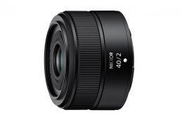 Nikon официально представила компактный NIKKOR Z 40mm F2