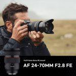 Samyang AF 24-70mm F2.8 FE - теперь не только в Азии