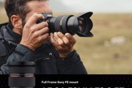 Samyang AF 24-70mm F2.8 FE — теперь не только в Азии