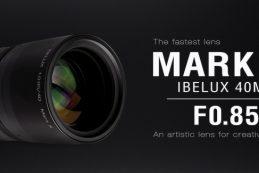 Скоро будет анонсирован новый объектив KIPON IBELUX 40mm f/0.85 Mark III