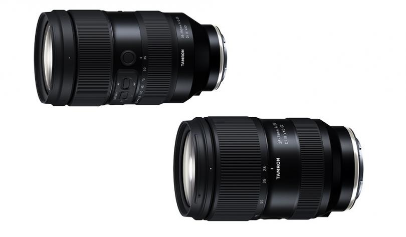 Tamron анонсировала 35–150mm f/2–2.8 Di III VXD и 28–75mm f/2.8 Di III VXD G2
